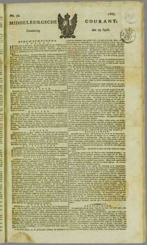 Middelburgsche Courant 1824-04-29