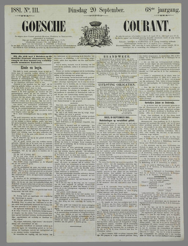 Goessche Courant 1881-09-20