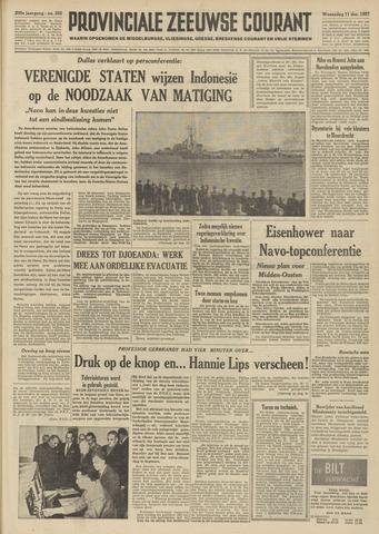Provinciale Zeeuwse Courant 1957-12-11