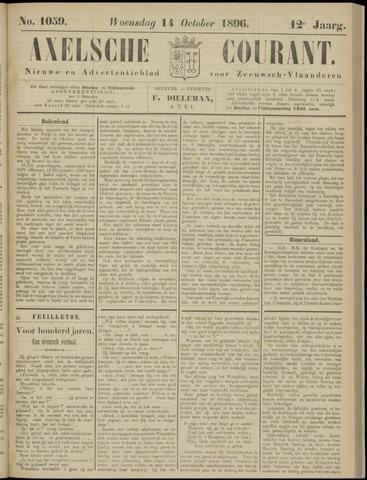 Axelsche Courant 1896-10-14
