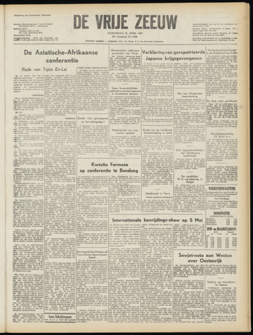 de Vrije Zeeuw 1955-04-20