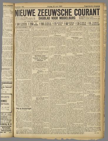 Nieuwe Zeeuwsche Courant 1923-06-22