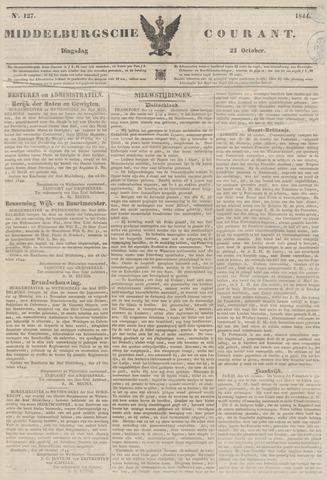 Middelburgsche Courant 1844-10-22