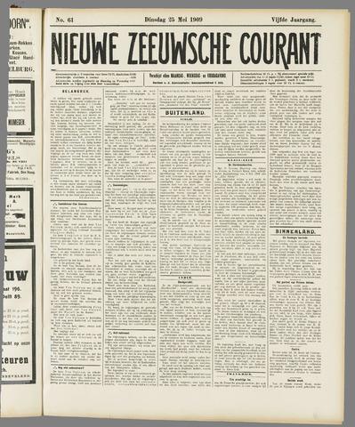 Nieuwe Zeeuwsche Courant 1909-05-25