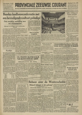 Provinciale Zeeuwse Courant 1950-10-23