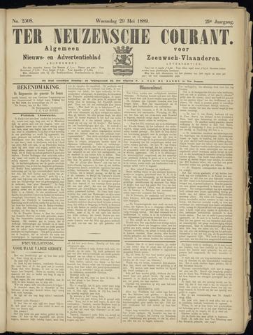Ter Neuzensche Courant. Algemeen Nieuws- en Advertentieblad voor Zeeuwsch-Vlaanderen / Neuzensche Courant ... (idem) / (Algemeen) nieuws en advertentieblad voor Zeeuwsch-Vlaanderen 1889-05-29