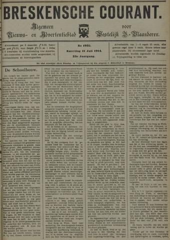 Breskensche Courant 1914-07-11