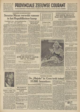 Provinciale Zeeuwse Courant 1952-09-22