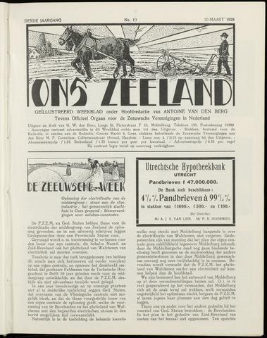 Ons Zeeland / Zeeuwsche editie 1928-03-10