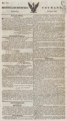 Middelburgsche Courant 1834-03-13