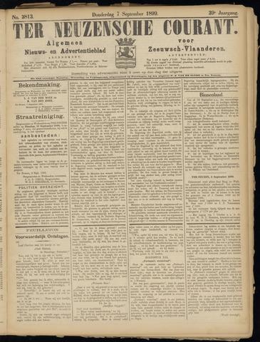 Ter Neuzensche Courant. Algemeen Nieuws- en Advertentieblad voor Zeeuwsch-Vlaanderen / Neuzensche Courant ... (idem) / (Algemeen) nieuws en advertentieblad voor Zeeuwsch-Vlaanderen 1899-09-07
