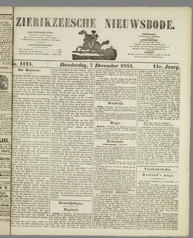 Zierikzeesche Nieuwsbode 1854-12-07