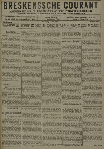 Breskensche Courant 1930-05-14