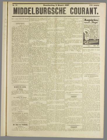 Middelburgsche Courant 1927-03-03