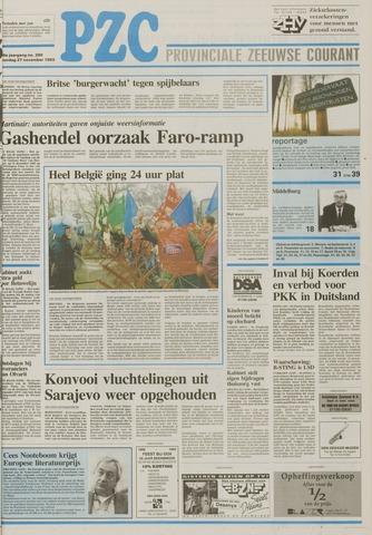 Provinciale Zeeuwse Courant 1993-11-27