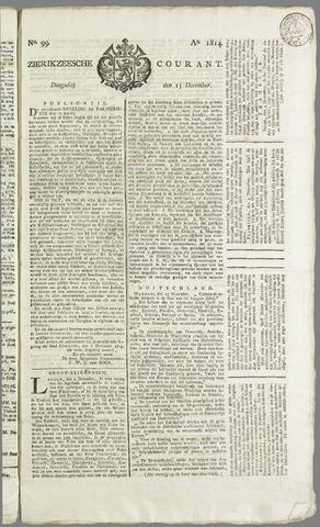 Zierikzeesche Courant 1814-12-13