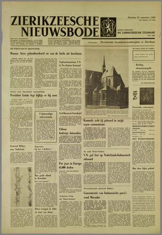 Zierikzeesche Nieuwsbode 1962-09-24