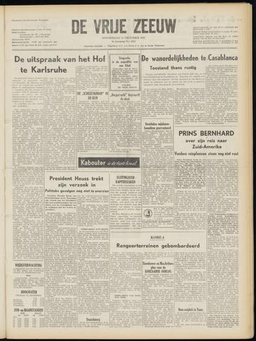 de Vrije Zeeuw 1952-12-11