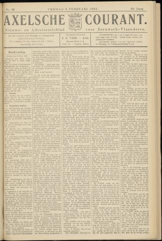 Axelsche Courant 1931-02-06