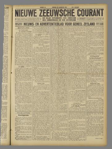Nieuwe Zeeuwsche Courant 1924-08-26