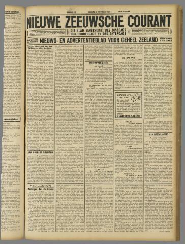 Nieuwe Zeeuwsche Courant 1927-10-11