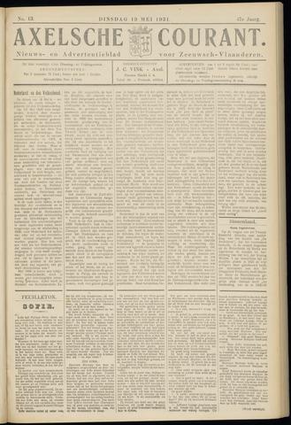 Axelsche Courant 1931-05-19