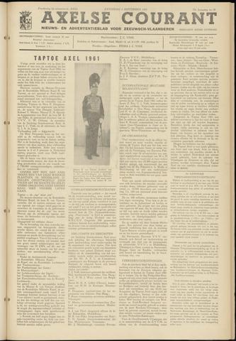 Axelsche Courant 1961-09-02