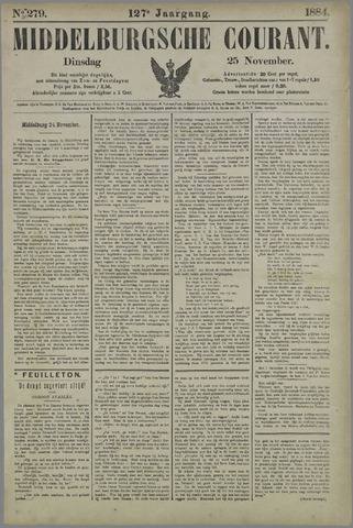 Middelburgsche Courant 1884-11-25