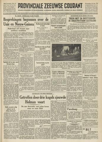 Provinciale Zeeuwse Courant 1952-01-16