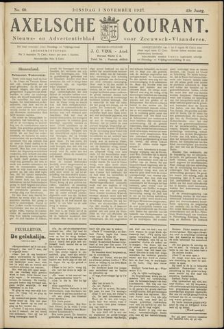 Axelsche Courant 1927-11-01