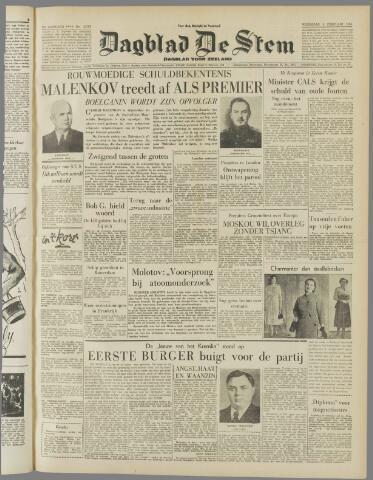 de Stem 1955-02-09