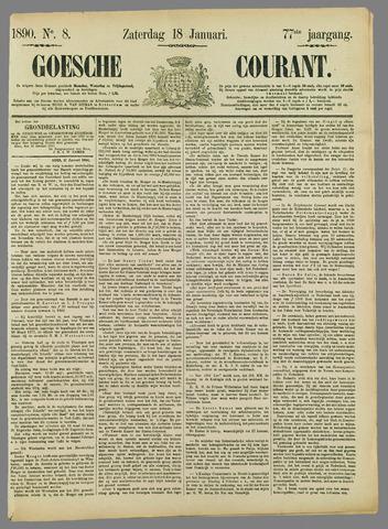 Goessche Courant 1890-01-18