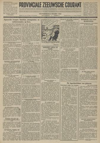 Provinciale Zeeuwse Courant 1942-03-05