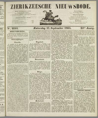 Zierikzeesche Nieuwsbode 1865-09-23