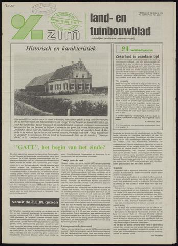 Zeeuwsch landbouwblad ... ZLM land- en tuinbouwblad 1990-10-12