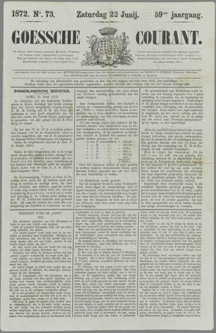 Goessche Courant 1872-06-22