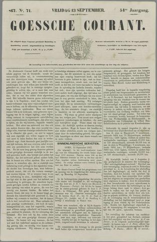 Goessche Courant 1867-09-13