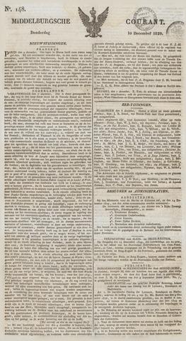 Middelburgsche Courant 1829-12-10