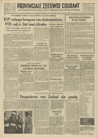 Provinciale Zeeuwse Courant 1958-05-21