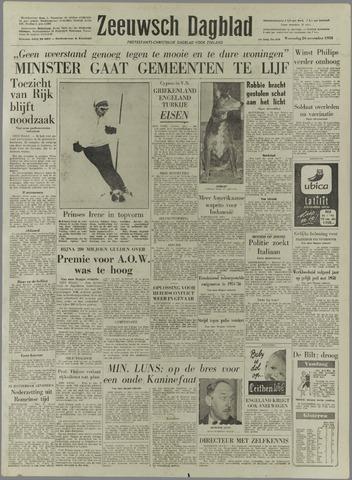 Zeeuwsch Dagblad 1958-11-26