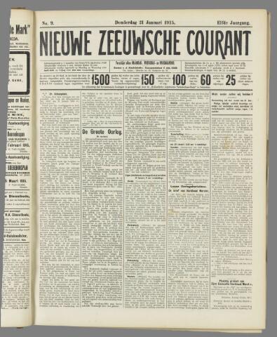 Nieuwe Zeeuwsche Courant 1915-01-21