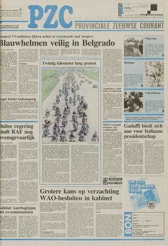 Provinciale Zeeuwse Courant 1992-05-18