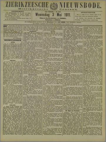 Zierikzeesche Nieuwsbode 1911-05-03