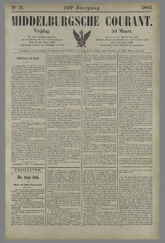 Middelburgsche Courant 1882-03-24