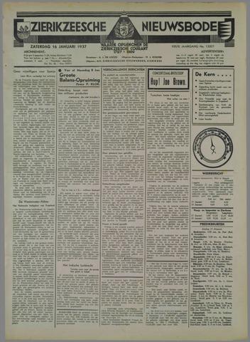 Zierikzeesche Nieuwsbode 1937-01-16