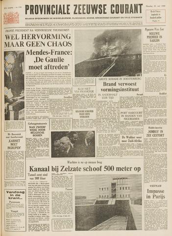 Provinciale Zeeuwse Courant 1968-05-20