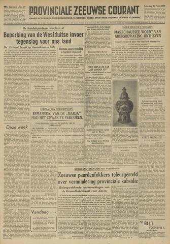 Provinciale Zeeuwse Courant 1951-02-24