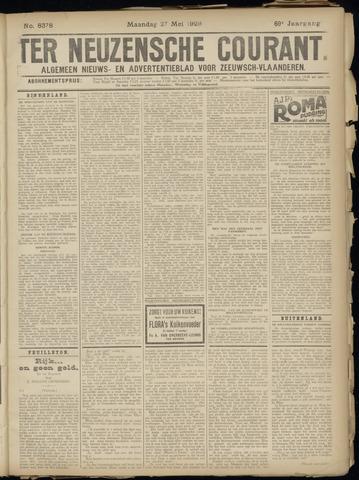 Ter Neuzensche Courant. Algemeen Nieuws- en Advertentieblad voor Zeeuwsch-Vlaanderen / Neuzensche Courant ... (idem) / (Algemeen) nieuws en advertentieblad voor Zeeuwsch-Vlaanderen 1929-05-27