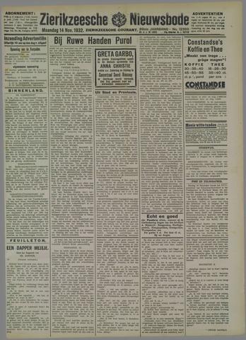 Zierikzeesche Nieuwsbode 1932-11-14