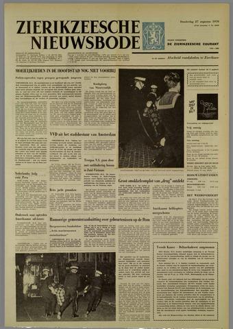 Zierikzeesche Nieuwsbode 1970-08-27